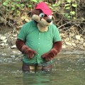 Reggie Otter Looking for Feesh