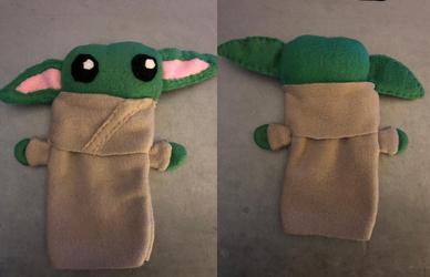 Star Wars Baby Yoda Plush Puppet Gift