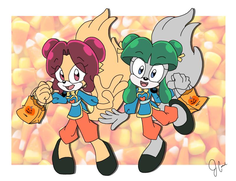 YukiCos - Halloween Commission 2
