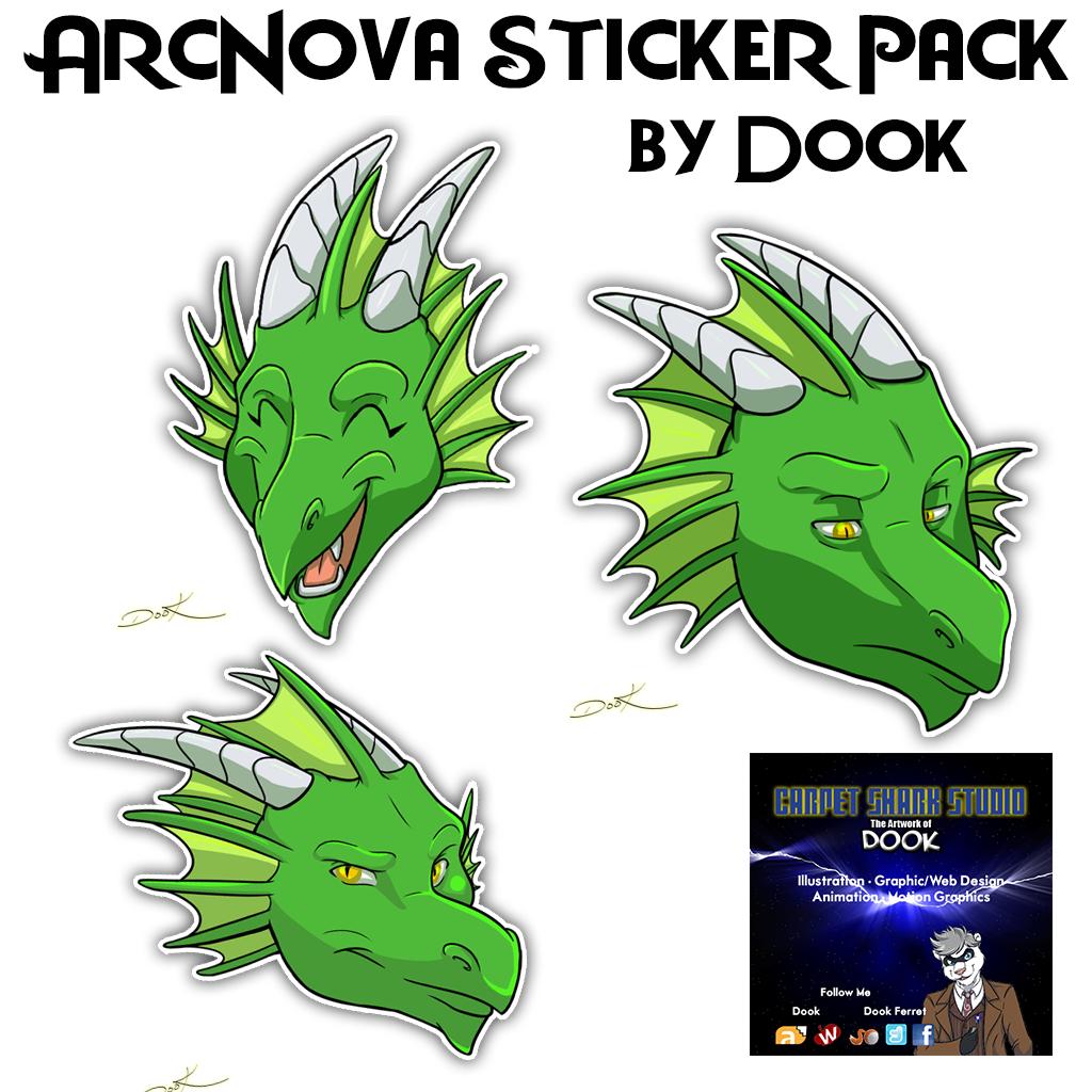 ArcNova Stickers