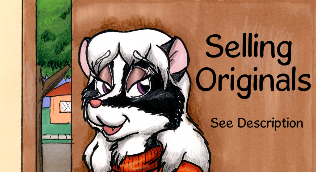 Most recent image: Selling old original artwork on Tremaine account!