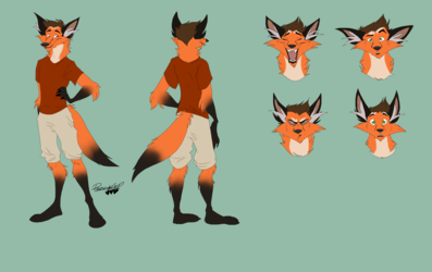Andy Dershon Reference Sheet by ReggaeCyp