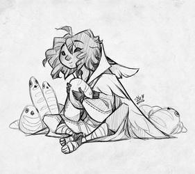 Sketch Commission: thebeesknees