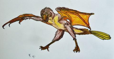 Colored Sketch--Yi Qi
