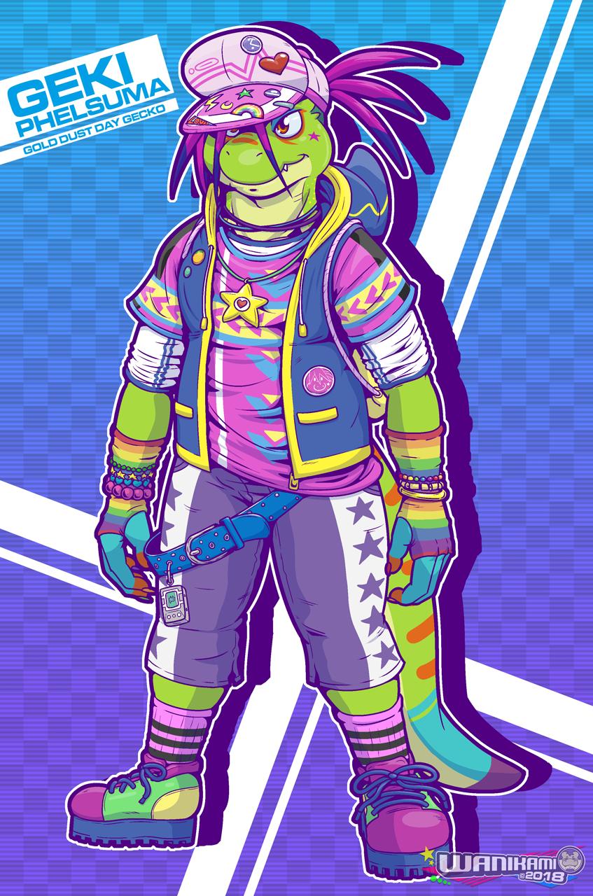 Harajuku Lizard: Geki Phelsuma