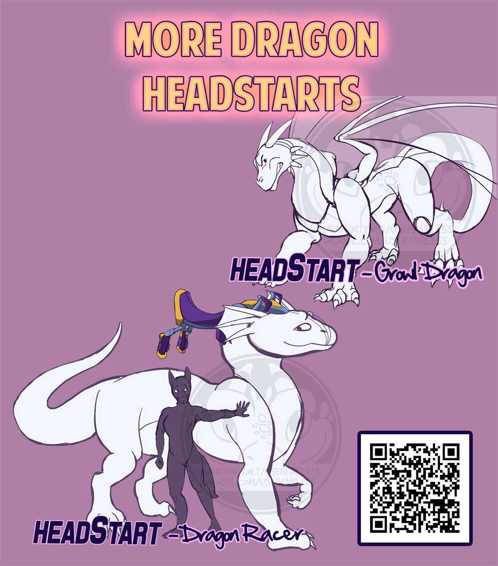More Dragon HeadStarts!
