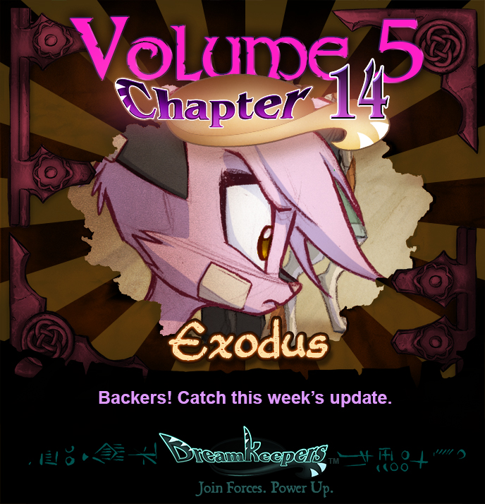 Volume 5 page 68 Update Announcement