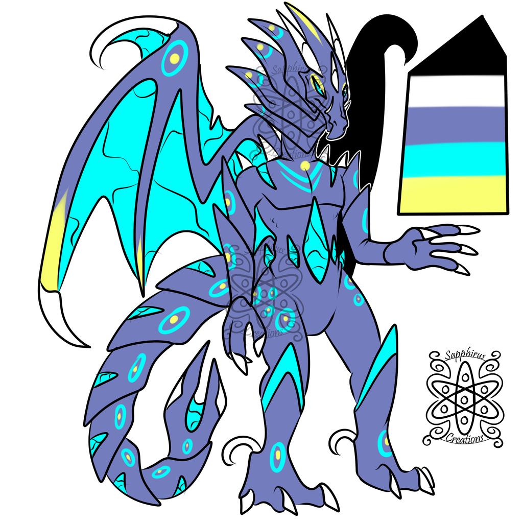 Alien Male Dragon +Design 4 Sale+