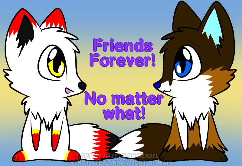 Alycia And Hazel - Friends Forever! [Gift]