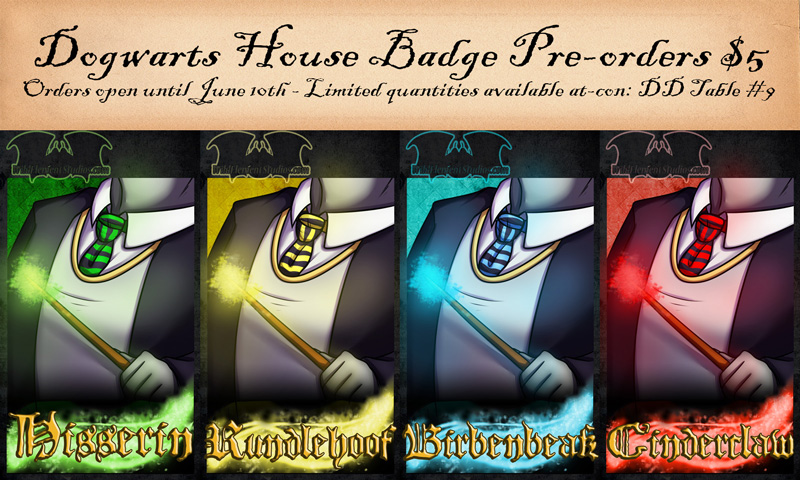 Fur-Eh House Badge Pre-Orders OPEN