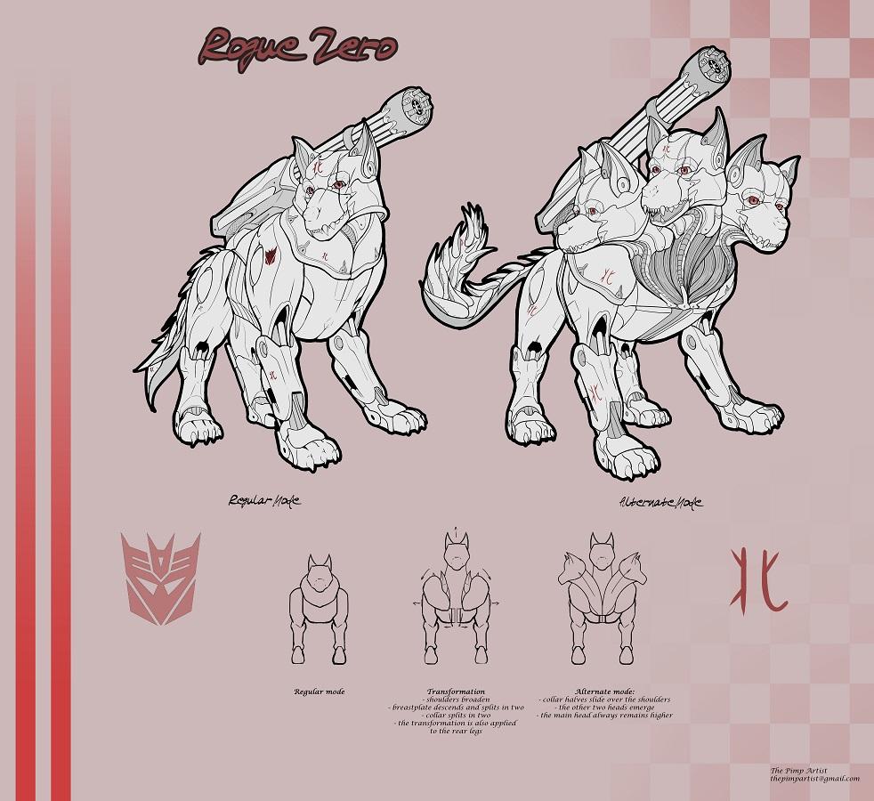 Rouge Zero ref sheet [C]