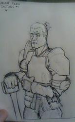Inktober #1 aka Human Faces are Hard