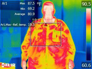 Most recent image: Me and FLIR