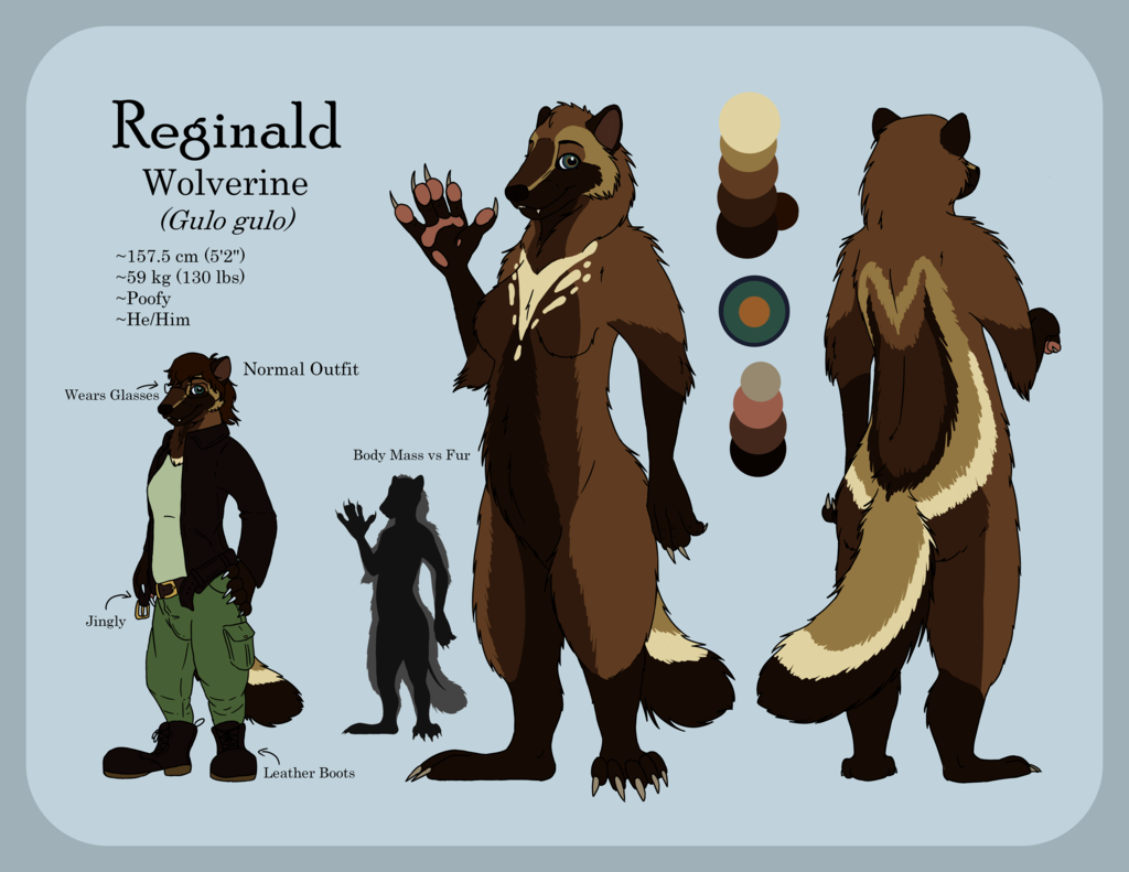 Reginald Wolverine Ref