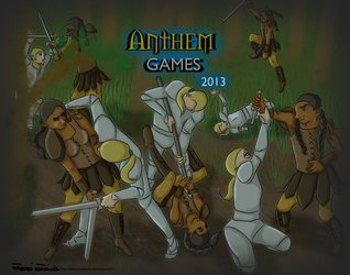 Entry for Anthem Games' 2013 play mat contest
