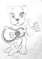 K.K. Slider sketch