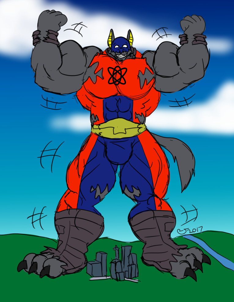Sketchmission: Atom Smasher Cosplay 2