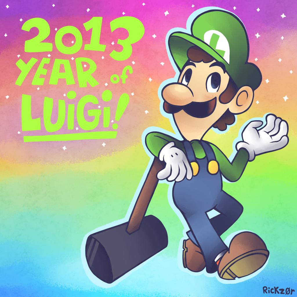 Super September! Day 30 - The Year of Luigi!