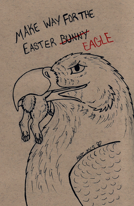 Featured image: Make Way For the Easter Eagle
