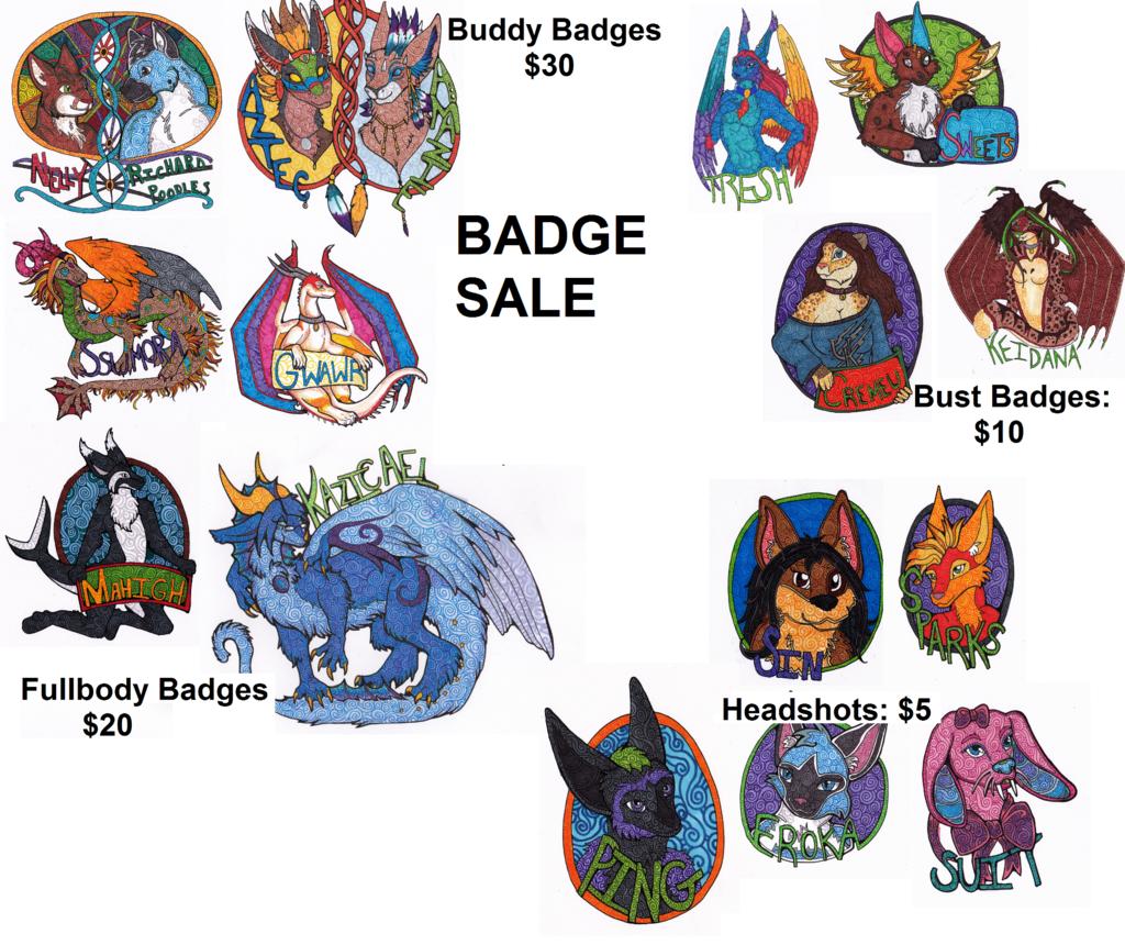 Big Big Badge Sale