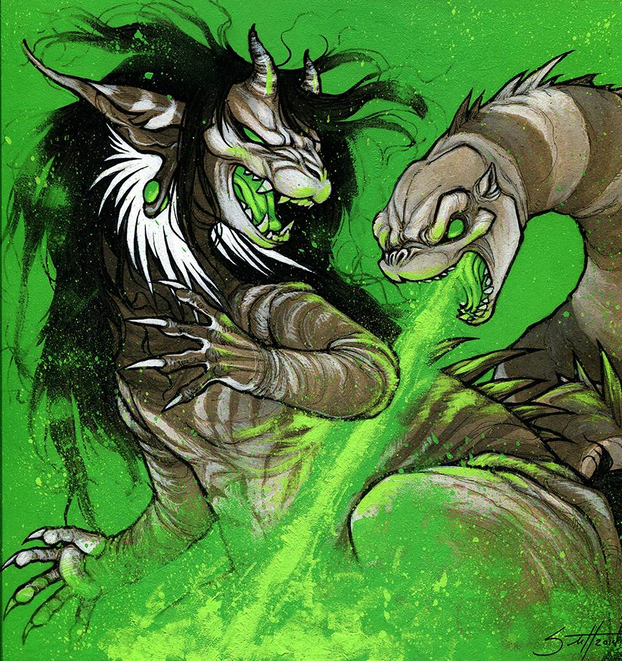Commission - Vox Kaiju