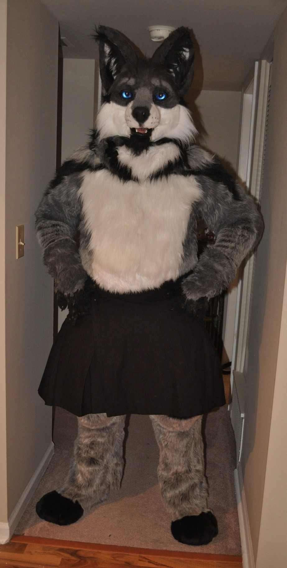 Most recent image: Kilted Wolf