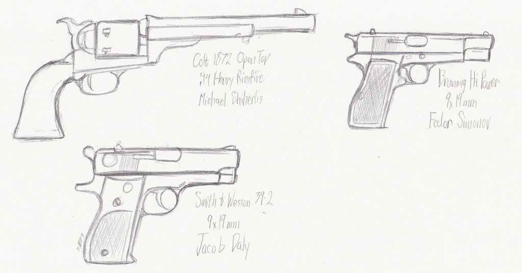 Character Handguns