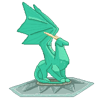 Most recent image: Crystallized dragon