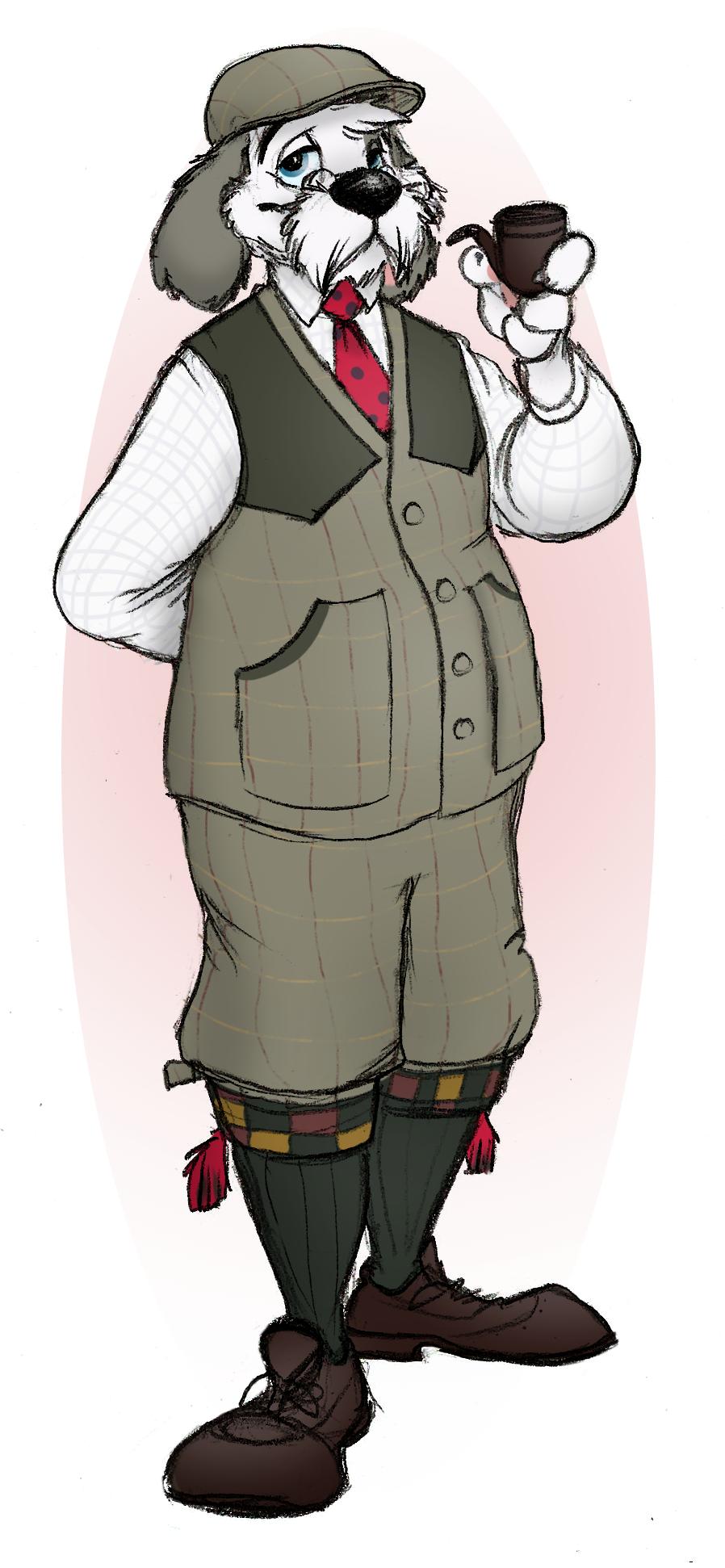 Tweed Hunter Barnaby by JustJim