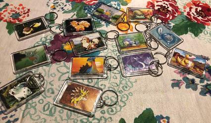 Pokemon Card Picture Keychain