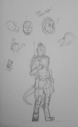 Technoraptor Sketches