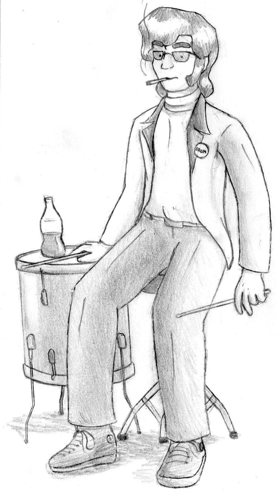 Drum Guy - Character Concept