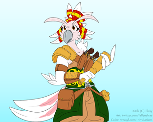 "Kitik the ""Pirate"""