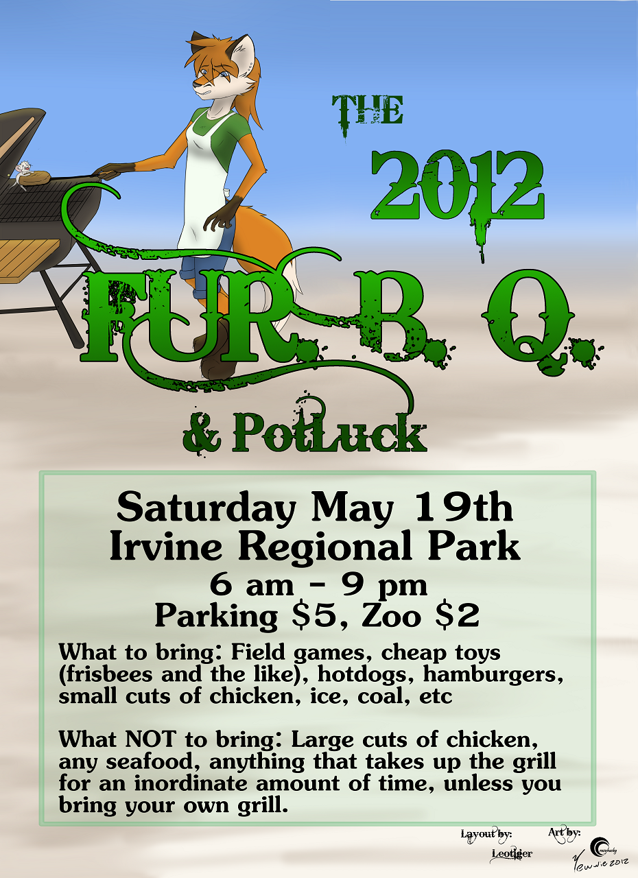 The 2012 SoCal Furs FurBQ