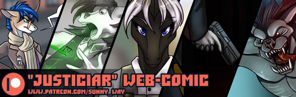 """Justiciar"" web-comic"