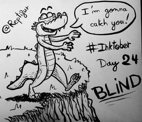 Inktober Day 24 : BLIND