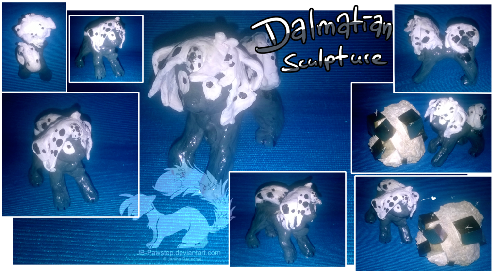 Featured image: Dalmatian Sculpture