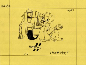 Inktober day 22