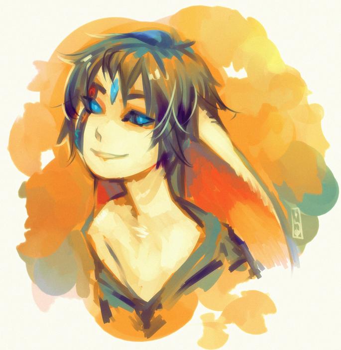 ::Commission:: DragonPunk bust