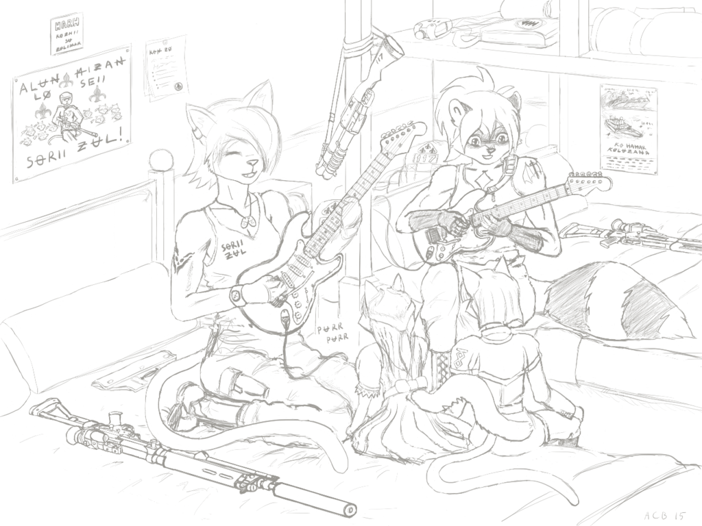Free Before the Thunderstorm (WIP 2)
