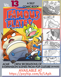 Famous 'Flateys Vol. 13 is Now Available