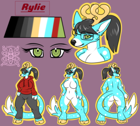 Rylie +Flatcolored Reference Commission+