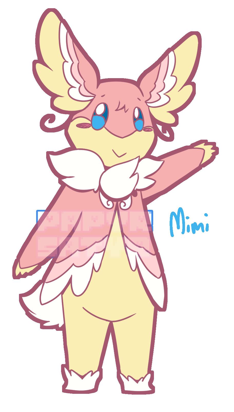 Mimi the Semi-Mega Audino!