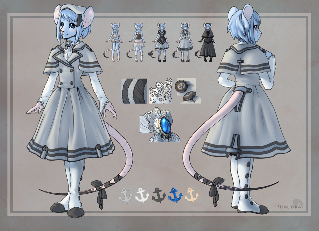 Outfit design - Inkstainedrat