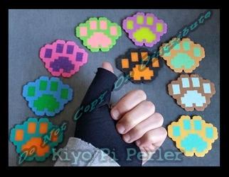 Mini-Paws Keychain 2 (Original Pattern)