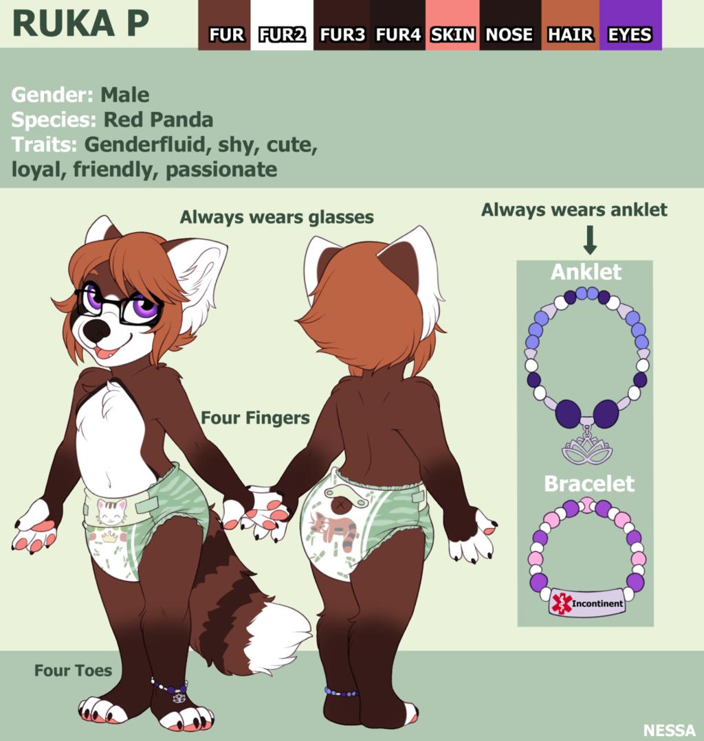 Ruka P Ref - Commission