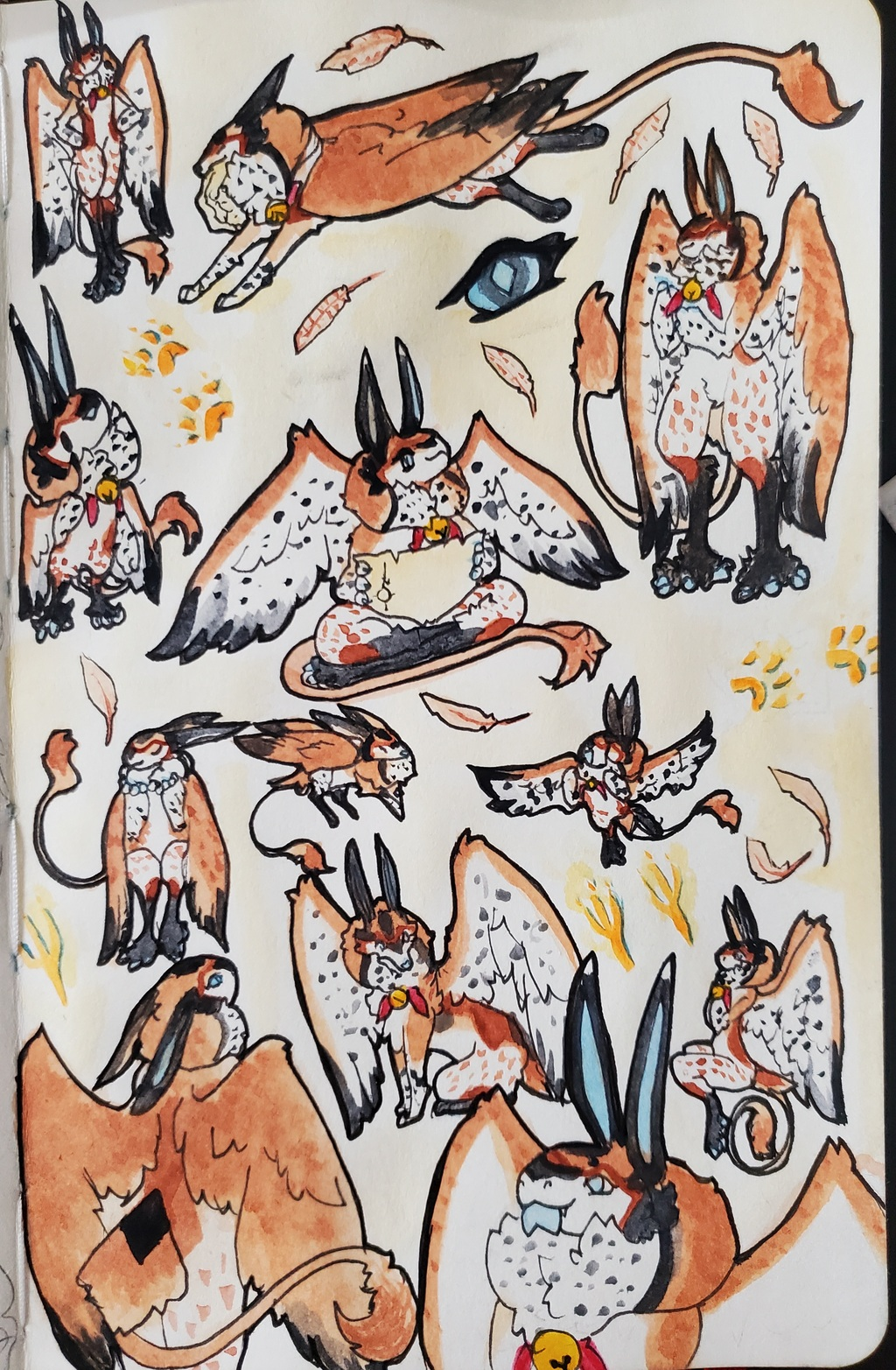 Doodle Page: Finch