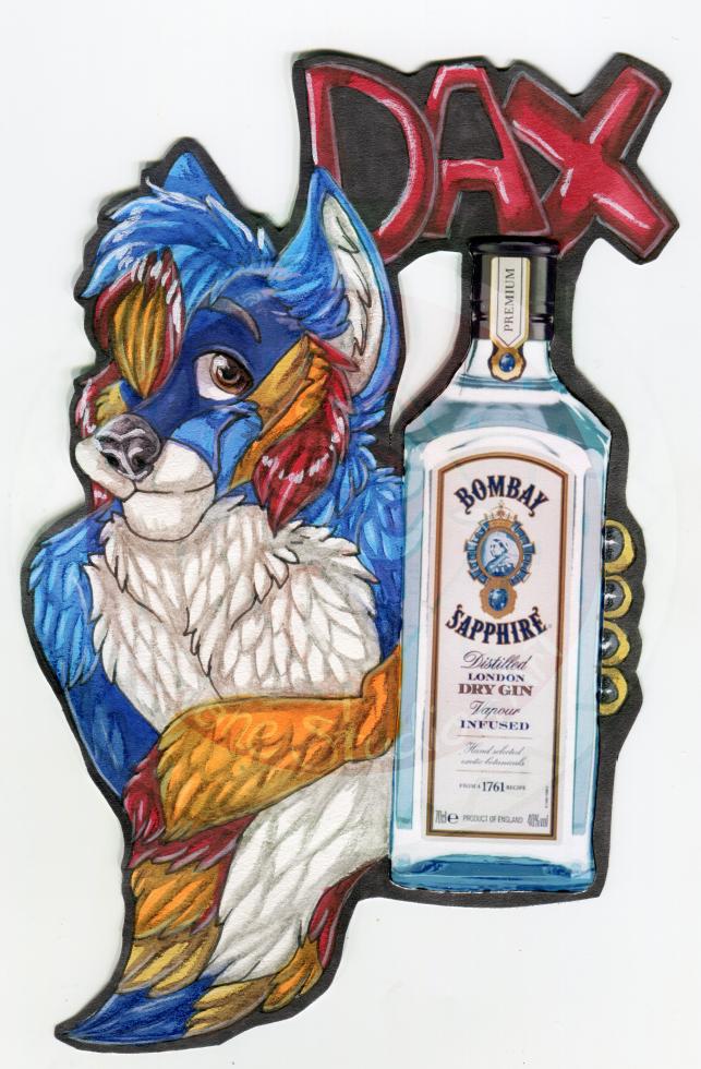 Dax Drink badge Comm