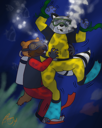 Helpless Under the Sea