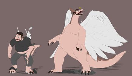 Even More Windragons!! Commission for Xello2203